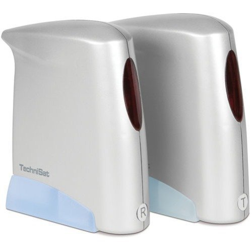 TechniSat SkyFunk 3 AV/IR Digitalreceiver (2x Netzteil, 2x Video/Audioanschlusskabel, SCART) silber