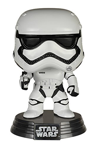 Funko FK6225 – Pop! Star Wars Episode VII The Force Awakens – First Order Stormtrooper Vinyl Figur 10 cm