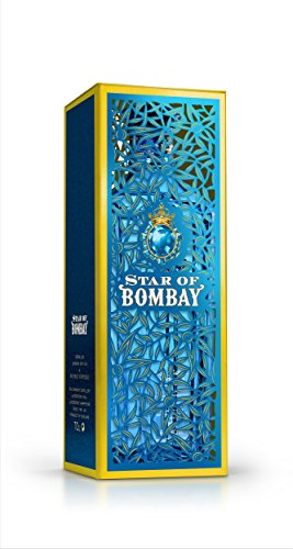 Star of Bombay Gin in hochwertiger Metallbox (1 x 0.7 l)
