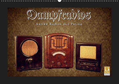 Dampfradios – Antike Radios mit Patina (Wandkalender 2019 DIN A2 quer): Eine bunte Mischung alter Rundfunk-Schätzchen (Monatskalender, 14 Seiten ) (CALVENDO Technologie)