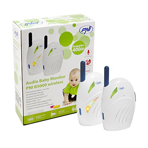 Funk Gegensprechanlage Tragbarer Audio Baby Monitor Zweiwege-Talk Rücken