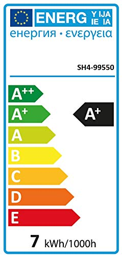 Smartwares Basic Lampenschalter-Set 2x E27 steuerbar via mitgelieferter Fernbedienung, SH4-99550, Weiß