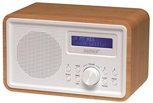 Denver DAB-35 DAB+/UKW Radio mehrfarbig
