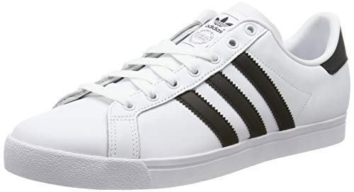adidas Herren Coast Star Sneaker, Weiß Core Black/Footwear White 0, 47 1/3 EU
