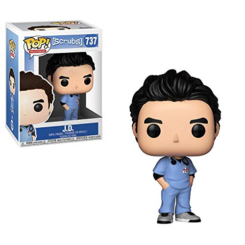 Pop Scrubs Jd Vinyl Figure