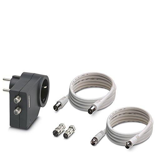 PHOENIX CONTACT Überspannungsschutzgerät Typ 3 MNT-TV-SAT D, 2882284